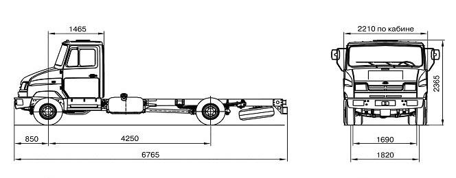 ЗИЛ АЭ-33241F (Бычок 5301)